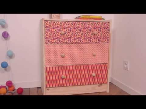 recouvrir une boite de tissu doovi. Black Bedroom Furniture Sets. Home Design Ideas