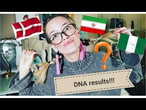 My DNA Results!!! (MY HERITAGE DNA KIT)