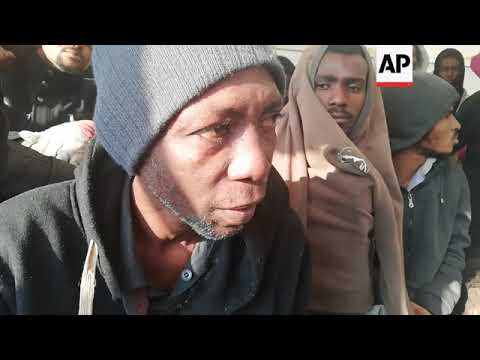 Rescued migrants arrive in Spain after week at sea