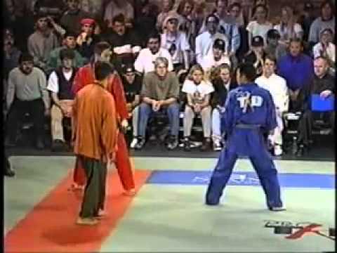 Taekwondo profesional fight