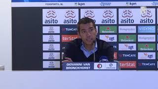 'Gio' over Heracles-Feyenoord (0-2): ''Wij belonen onszelf wel'