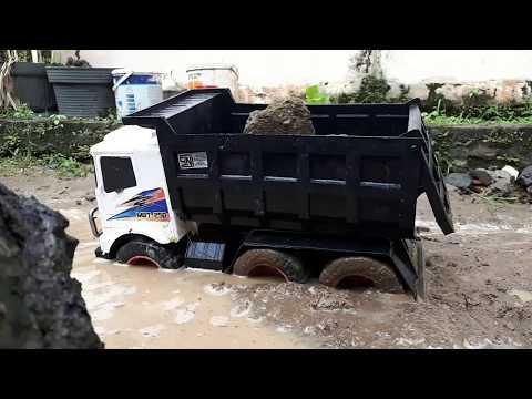 Main Truk Pasir Anak #10 || Car Wash Truck || Video For Kids || Dunia Anak || Mainan Anak