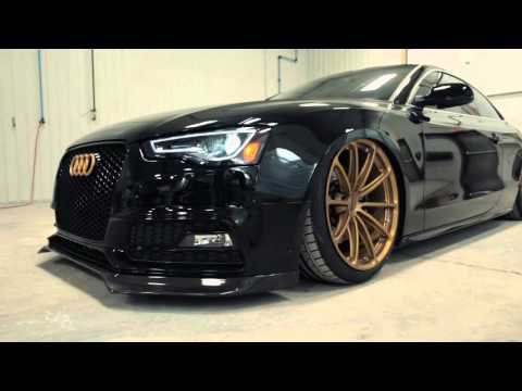 Prostate Cancer Canada's 2016 Audi S5 Coupe on Forgeline One Piece Forged Monoblock GT1 5-Lug Wheels