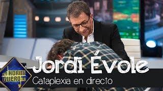 Jordi Évole sufre un principio de cataplexia en pleno directo - El Hormiguero 3.0