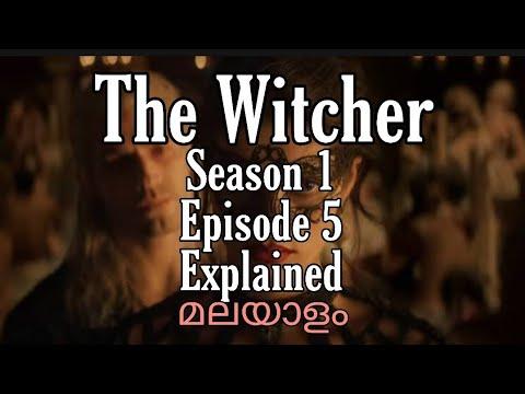 Download The Witcher Season 1 Episode 5 Malayalam  Explained  Netflix Flick House