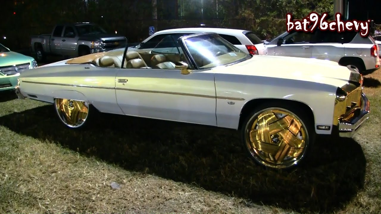 White/Gold 75 Caprice Donk Vert on 28\