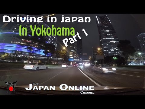 Driving in Japan: A Drive around Yokohama