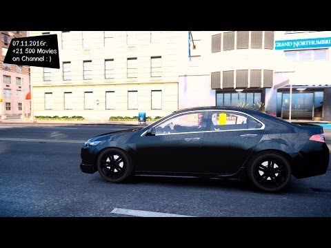 Honda Accord Type S - GTA IV MOD ENB | 2.7K / 1440p ! _REVIEW