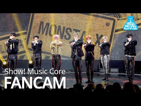 [예능연구소 직캠] MONSTA X - Alligator, 몬스타엑스 - Alligator @Show! Music Core 20190309