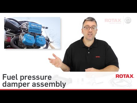 Rotax TECH TIPS - Intro to SI PAC 020 Fuel Pressure Damper Assy