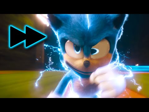 Sonic The Hedgehog, But Every Time Sonic RUNS, The Movie Gets 5% Faster