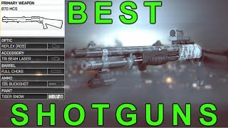 BATTLEFIELD 4 - Review Of SHOTGUNS What Is The BEST ONE?