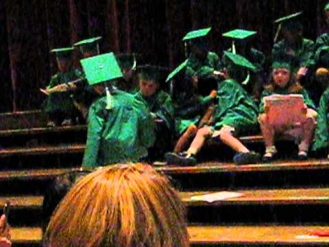 Wesley Preschool Graduation