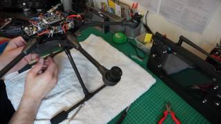 YUNEEC TYPHOON H. EXTERNAL 2.4GHZ ANTENNA MOD FITTED COMPLETE, READY FOR TEST.