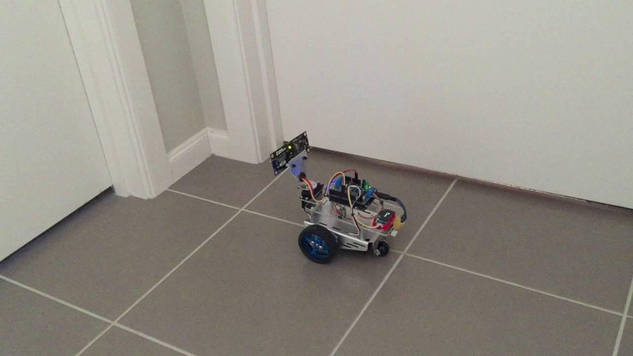 Arduino Robot w/ Parallax Laser Sensor – Pt 2
