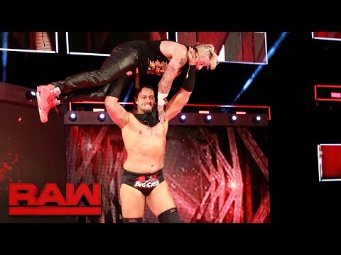 Thumbnail: Big Cass throws Enzo Amore down the ramp: Raw, June 26, 2017