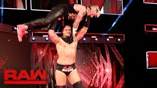 Big Cass throws Enzo Amore down the ramp: Raw, June 26, 2017