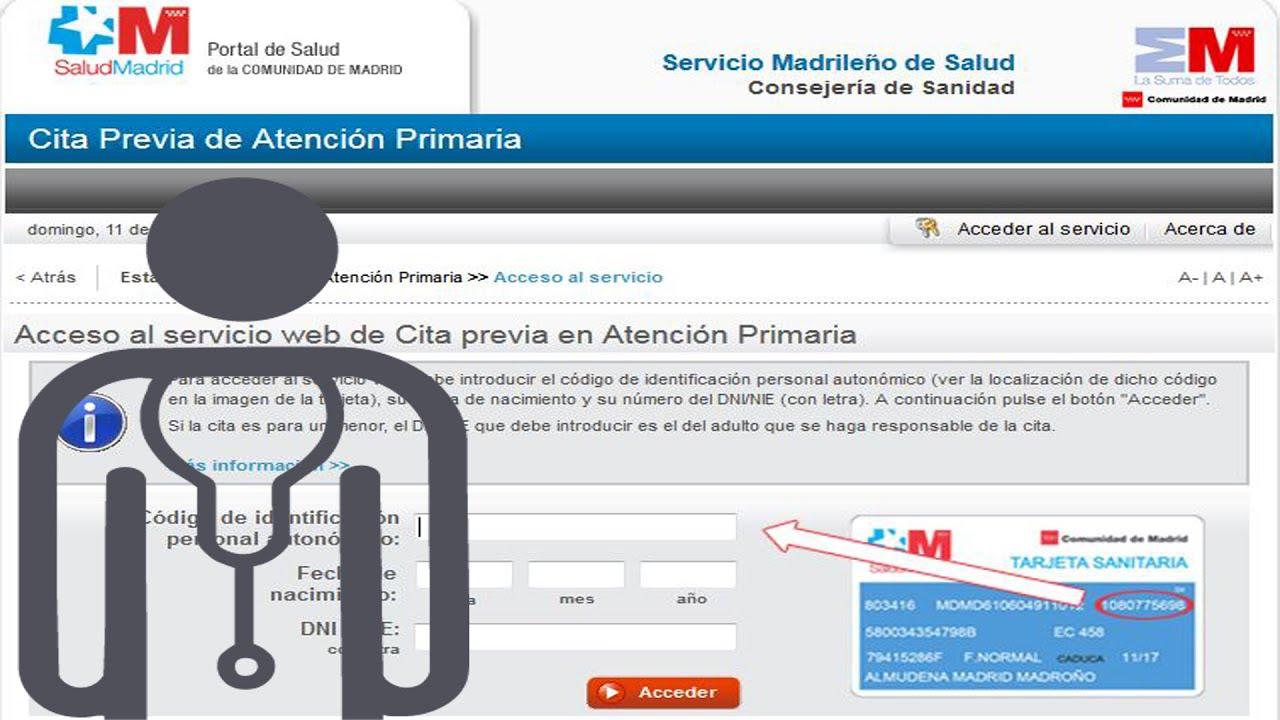 Pedir cita por internet m dico cabecera madrid funnydog tv - Pedir cita al medico de cabecera por internet ...