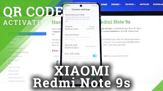 How to Allow Camera to Scan QR Codes in XIAOMI Redmi Note 9s – Activate QR Scanner