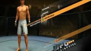 UFC Undisputed 2009 - How to Max Your Fighter Glitch
