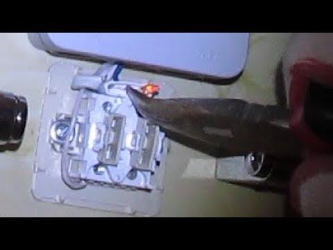 Как убрать подсветку в выключателе