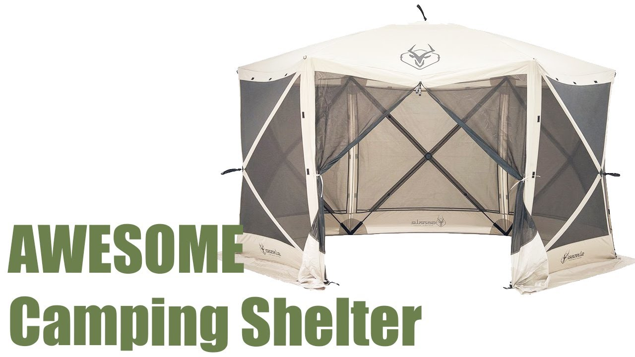3 AWESOME C&ing Shelter You Can Buy On AMAZON  sc 1 st  YouTube : clam 1660 mag screen tent - memphite.com