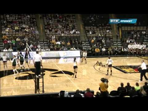 Michigan State At Iowa - Volleyball Wrap-Up