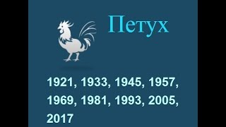 Год петуха, гороскоп составленный психологом Натальей Кучеренко.