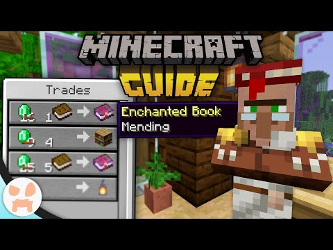 How To Get MENDING FOR 1 EMERALD! | The Minecraft Guide - Tutorial Lets Play (Ep. 28)