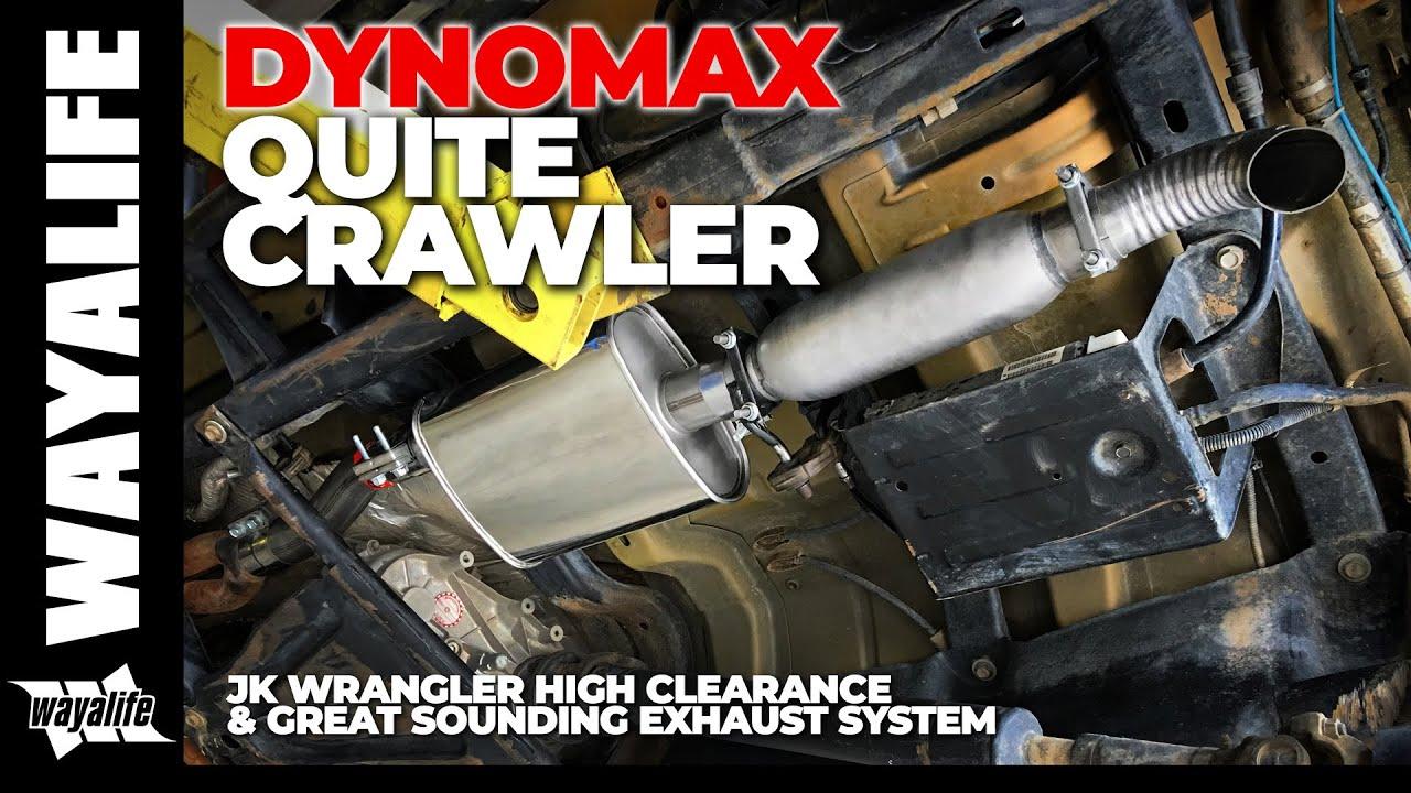 dynomax jeep jk wrangler quietcrawler performance exhaust sound clips