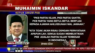 Soal Partai Setan, dan Partai Allah, Cak Imin: PKB Partai Islam