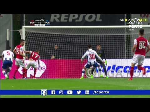 SC Braga-FC Porto, 1-1 (resumo)