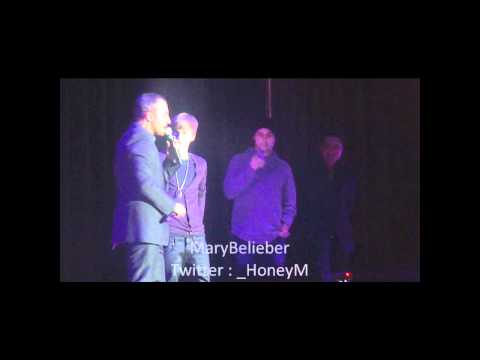 Justin Bieber Never Say Never French Premiere