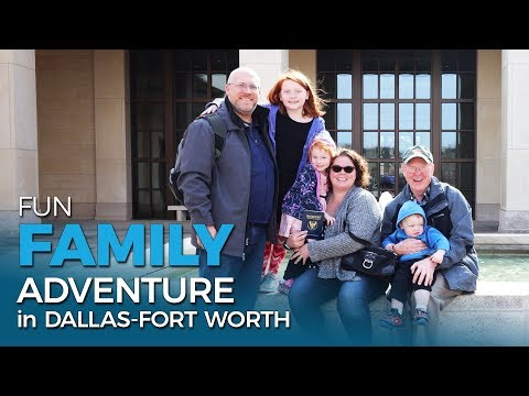 Adventure in Dallas-Fort Worth ⭐ | Full-time RV Family | Five 2 Go Ep. 16