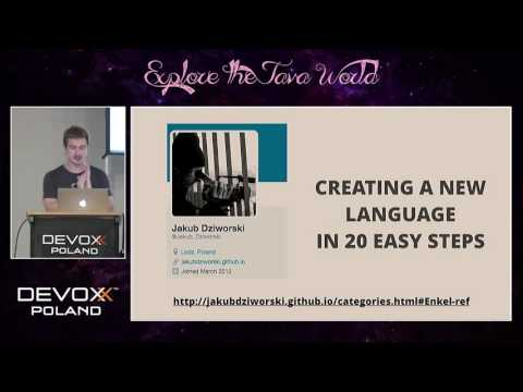 Devoxx Poland 2016 - Oleg Šelajev - How to Create a New JVM Language in Under an Hour