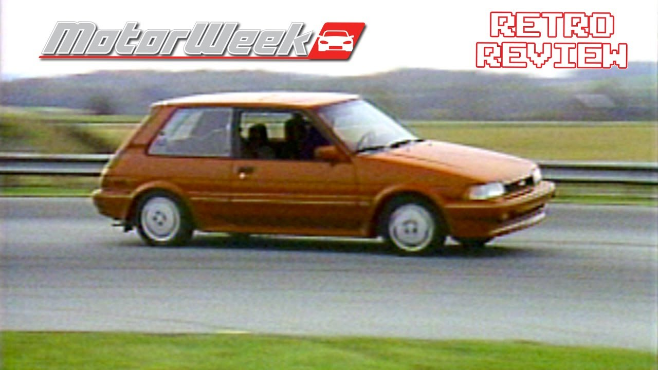 Retro Review 1987 Toyota Corolla Fx16 Youtube