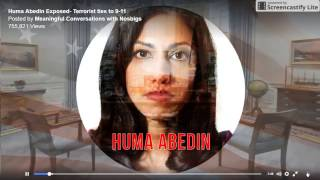 CLINTON and HUMA Abedin - People, this is NOTHING to play with.