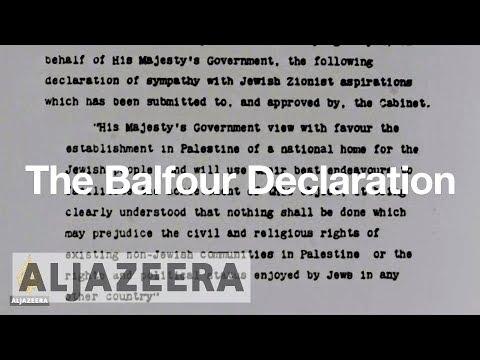 The Balfour Declaration explained