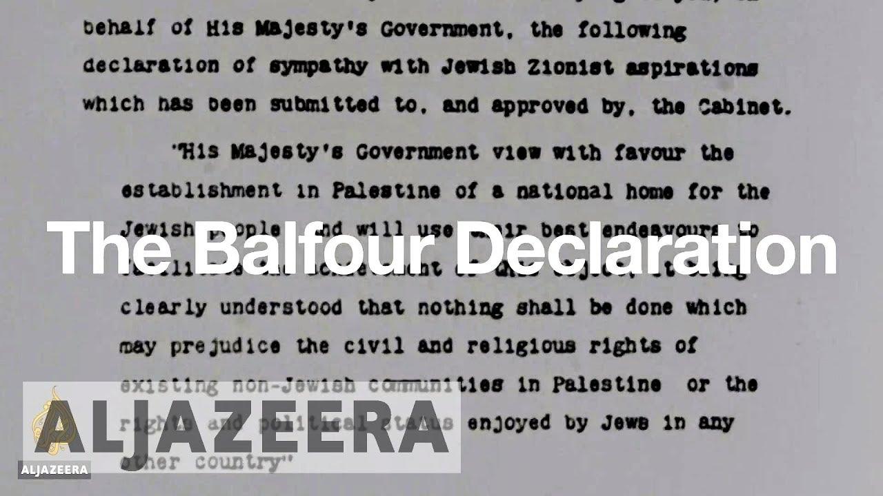 The Balfour Declaration Explained Youtube