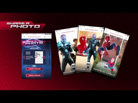 TESCO : The Amazing Spider-Man 2 Augmented Reality Game
