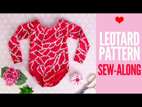How to Make a Leotard | Sew Along with Leotard #4