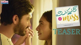 Gambar cover Mr & Miss Telugu Movie Official Teaser || Sailesh Sunny, Gnaneswari Kandregula || Ashok Reddy