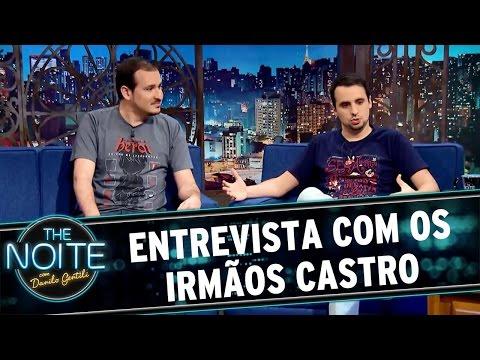 The Noite (18/03/16) - Entrevista com os irmãos Castro