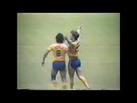 San Diego Sockers vs Tampa Bay Rowdies, 1982 NASL Indoor Finals, Game 1