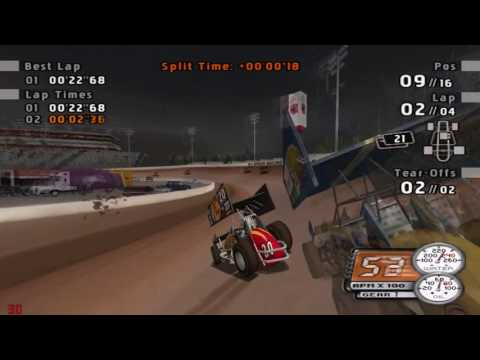 Sprint Cars: Road to Knoxville Gameplay