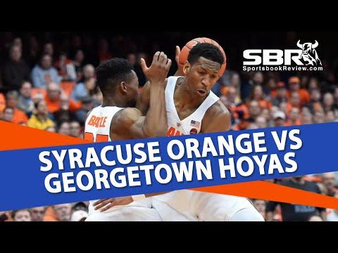 Syracuse Orange vs. Georgetown Hoyas | NCAAB Picks | With Joe Gavazzi