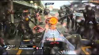 Michael Schumacher letztes Rennen - Sebastian Vettel wird Weltmeister 2012 - DREIFACH WELTMEISTER