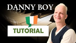 How To Play Danny Boy On Piano ( With a Blues Touch)