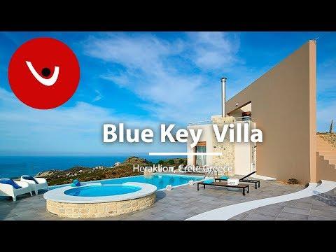 Blue Key Villa to Rent in Heraklion Greece | Unique Villas | uniquevillas.gr