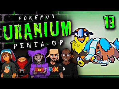 "Pokémon Uranium 5-Player Nuzlocke - Ep 13 ""THESE FOSSILS ARE DOPE!!"""